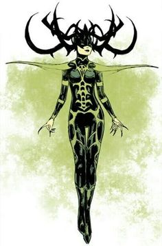 File:Hela from Mighty Thor Vol 2 3 Design Variant Marvel Hela, Hela Thor, Marvel Vs, Marvel Dc Comics, Comic Villains, Marvel Characters, Marvel Movies, Marvel Tattoos, Art Beat