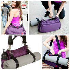 594bbd111a The yoga mat bag that is far more than a yoga mat bag. Meet the