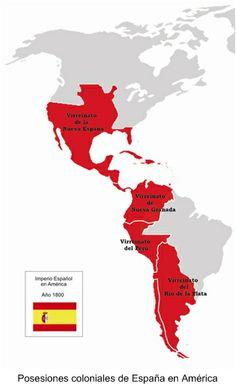 Posesions coloniales de España en América