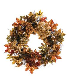 Another great find on #zulily! Hydrangea & Berry Wreath #zulilyfinds