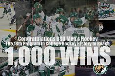 Bemidji State became the 18th program in NCAA mens ice hockey history to earn its 1,000 victory. Click here for more: http://www.bsubeavers.com/mhockey/news/2012-13/6152/boehms-two-goal-night-propels-bsu-to-3-2-victory-at-nebraska-omaha/