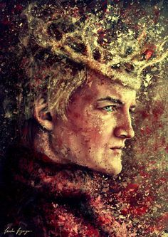 "Amazing Joffrey Baratheon artwork by varshavijayan ""Everyone is mine to torment! You'd do well to remember that, you little monster.""Facebook Deviantart"