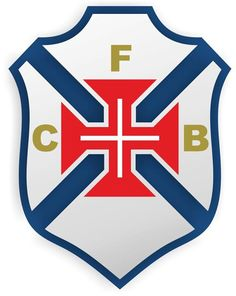 Belenenses Lissabon Primary Logo on Chris Creamer's Sports Logos Page - SportsLogos. A virtual museum of sports logos, uniforms and historical items. Soccer Logo, Football Team Logos, Sports Logos, Soccer Teams, Manchester City, Manchester United, Premier League, Steven Gerrard, Chelsea Fc