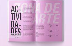 Noel Richelme on Behance Design Editorial, Editorial Layout, Magazine Layout Design, Book Design Layout, Graphic Design Branding, Graphic Design Posters, Typography Magazine, Presentation Layout, Journaling