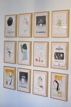take apart a picture book and frame the art, also a good idea on where to buy frames