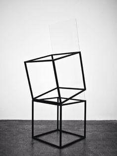Túlio Pinto (steel and glass) Geometric Sculpture, Abstract Sculpture, Sculpture Art, Metal Sculptures, Types Of Art, Type Art, Acrylic Resin, Dark Matter, Minimal Design