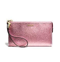 Glitter zippy coach wallet @Bonnie Helton ton/ sale