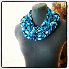 Crochet Fashion Cowl by brandymccoysboutique on Etsy, $30.00