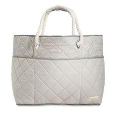 cinda b Beach Bag II in French Linen