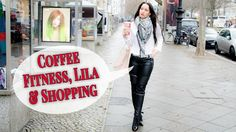 Leather trousers and white blouse - Leder Outfit - VLOG 062 | Berlin, Ku...