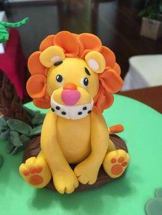 Topper torta safari