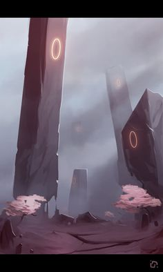 Desertpillars by Callesw on deviantART