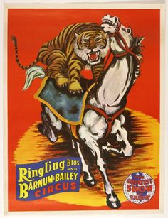 1970s Pop Culture | 1970's Ringling Bros and Barnum & Bailey Greatest Show on Earth Circus ...