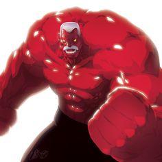 #Red #Hulk #Fan #Art. (Thunderbolt Hulk) By: TheCHAMB. ÅWESOMENESS!!!™ ÅÅÅ+
