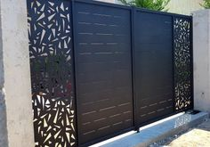 Front Wall Design, Main Gate Design, House Gate Design, Door Gate Design, Room Door Design, Unique House Design, Fence Design, Gate Designs Modern, Modern Design