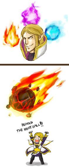 Dota2 - Invoker's meatball by spidercandy