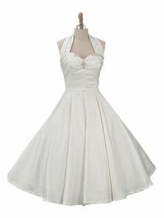 rockabilly wedding dresses | 1950s style full skirt wedding dress | Rockabilly Weddings
