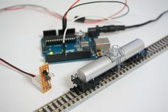 I posted an article about IR train detector here . This time I made an improved one. Smaller, simpler and more easy to use on model train la...