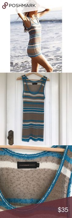 Eternal Sunshine Creations dress/coverup Awesome, lightweight slub swim coverup or dress.  I never got a chance to wear it.  If I don't sell, I've got next summer to look forward to wearing.  But for now, maybe someone else can get some use out of it.  FYI...I think you'd need a slip if you wear it as a dress, unless you're comfortable with it being slightly see through. Eternal Sunshine Creations Swim Coverups