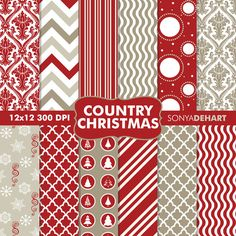 Country Christmas by SonyaDeHartDesign