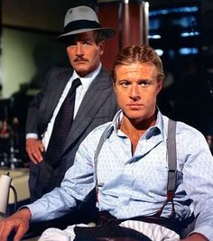 The Sting (1973, Best Picture Oscar Winner), with Robert Redford and Paul Newman. This movie pleases the eyes greatly.