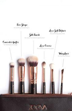 Brushes - I never knew how important they were until the last year or so, so since then I've made it my mission to work out the best ones to make the task of putting on makeup a little bit easier. I l