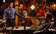 Wilmer Valderrama Reunites With Ashton Kutcher And Danny Masterson On 'The Ranch' The Ranch Tv Show, Wilmer Valderrama, Ashton Kutcher, That 70s Show, Shows On Netflix, Cowboy And Cowgirl, Movie Tv, Music Videos, Anatomy
