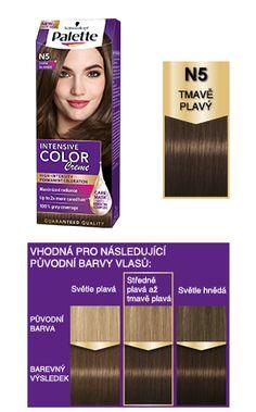 Intensive Color Creme N5 Tmavě plavý