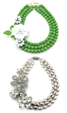 ...gorgeous chunks of glamour for spring...