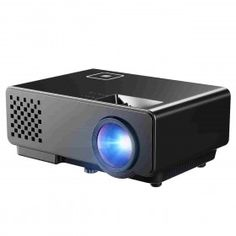Great Price - Mpow LCD Projector Mini Portable Multimedia Home Theater with USB AV HDMI VGA LED Projector for Video Game Movie Backyard Cinema.  Create Your Home Theater. High Resolution and High Brightness  Price$89.19