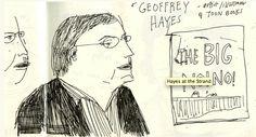 Elizabeth Graeber's drawing of Geoffrey Hayes