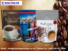 We offer excellent quality and durable #coffeebags with several features so that they preserve the essential qualities of the coffee for prolonged period of time. http://standuppouches.co.uk/coffee-bags.htm