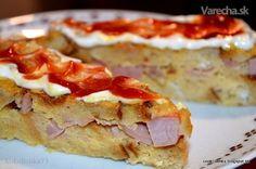 Chlieb vo vajci je také tradičné jedlo, keď nevieme, čo so starším chlebom alebo naň  máme jednoducho chuť. Je to  sýte, variabilné (naslano aj nasladko), ale aj poriadne mastné. Za tip na lepšiu verziu  vďačím kamarátke Annamari z  Fb. Quiche, French Toast, Hamburger, Pizza, Ale, Breakfast, Desserts, Food, Morning Coffee