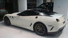 Just came in, supercar Ferrari 599 GTO. See all photos and details at www.dealsonwheels.ae
