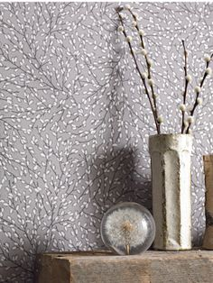 Superfresco Easy Elements Willow Wallpaper - Mushroom