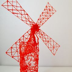 Moulin rouge, designed with passion, created with 3D printing pen