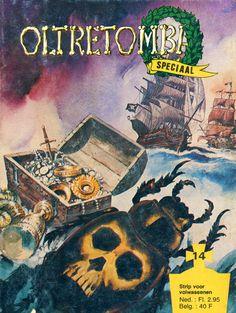 Cover for Oltretomba speciaal (De Vrijbuiter; De Schorpioen, 1973 series) #14