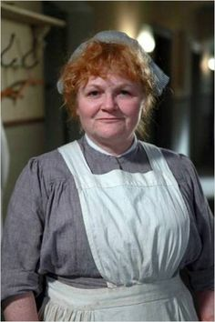 Lesley Nicol from Downton Abbey - Beryl Patmore, head cook