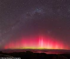 NSW storm creates show in the skies with Aurora australis painting the night | Daily Mail Online