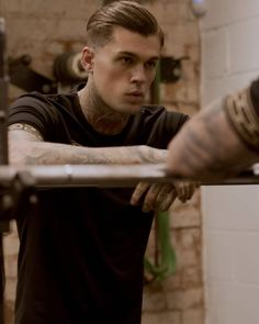 Sexy Tattooed Men, Stephen James Model, Dream Boy, Hot Guys, Hot Men, Future Husband, Bad Boys, The Dreamers, The Best