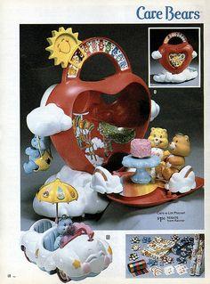 80s, carealot playset, toy, bear carealot, rememb