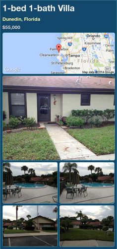 1-bed 1-bath Villa in Dunedin, Florida ►$55,000 #PropertyForSale #RealEstate #Florida http://florida-magic.com/properties/79848-villa-for-sale-in-dunedin-florida-with-1-bedroom-1-bathroom