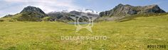 http://www.dollarphotoclub.com/stock-photo/Mountain and lake (panoramic)/8012988 Dollar Photo Club millions of stock images for $1 each