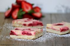 Strawberry Balsamic Goat Cheese Bars | Foodness Gracious @Gerry L Speirs