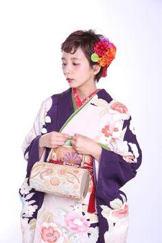 短い髪でも可愛く。着物に合わせるショートのヘアスタイルまとめ - Yahoo! BEAUTY Yukata, Wedding Hairstyles, Short Hair Styles, Poses, Japanese Hairstyles, Yahoo Beauty, Hana, Style Ideas, Hair Ideas