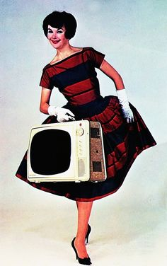 "Electrochrome ""Courier"" T.V.    1960s"