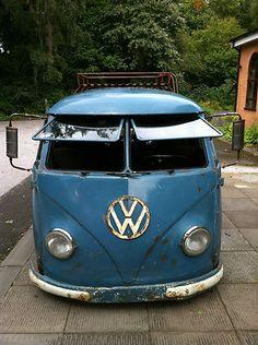 VW splitscreen 1956 camper