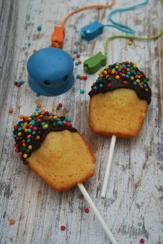 madeleines pops - passion culinaire minouche à