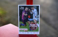 A matchday programme on display ahead of the Premier League match between Sunderland and Watford at Stadium of Light on December 17, 2016 in Sunderland, England.