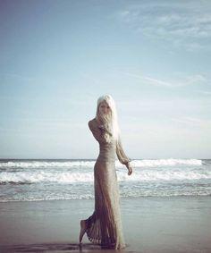 Elena Potapova is A Marvelous Mermaid in Haute Living Magazine